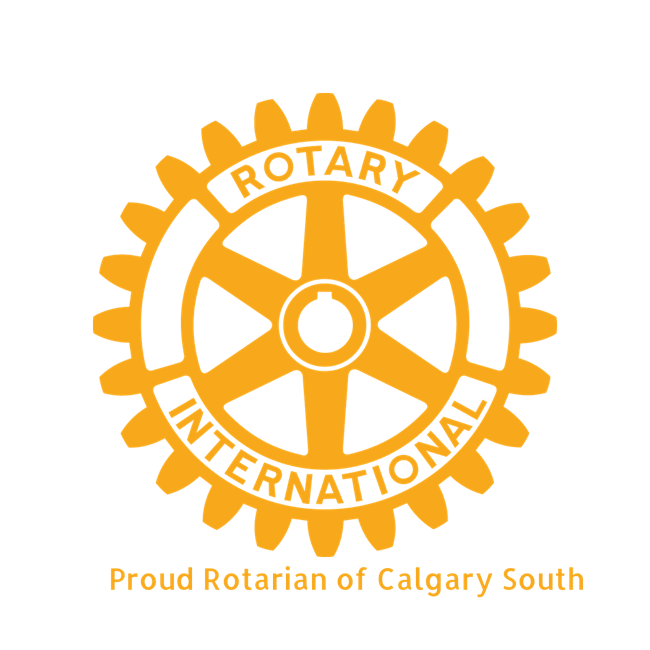 Glen is a proud member of the Rotary Club South Calgary Chapter